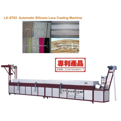 LX-ST03 Automatic Silicone Lace Coating Machine